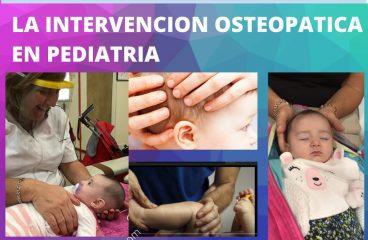 AULA ABIERTA – Intervención osteopatia en pediatria